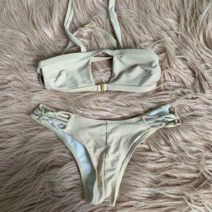 Zaful Swim - Tan set bikini